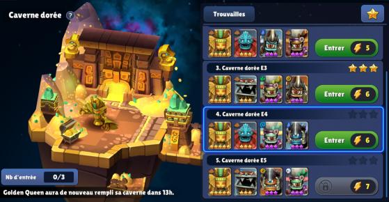 Les différents niveaux de difficulté - Skylanders Ring of Heroes