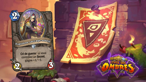 Hearthstone L'Eveil des Ombres : Espionne Saccage Soleil (Sunreaver Spy)