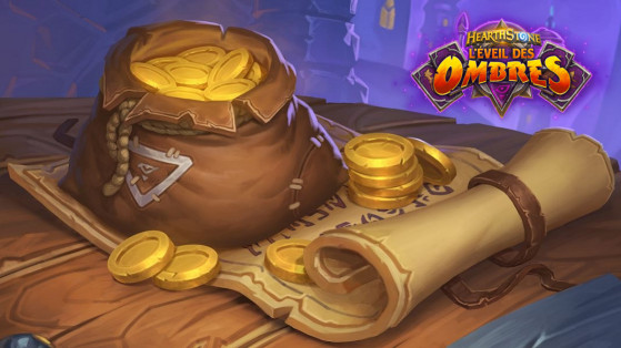 Hearthstone L'Eveil des Ombres : 12 boosters Rise of Shadows, quêtes