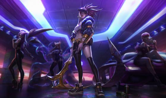 Même après de nombre nerfs, Akali à toujours une place prépondérante sur la Faille de l'Invocateur - League of Legends