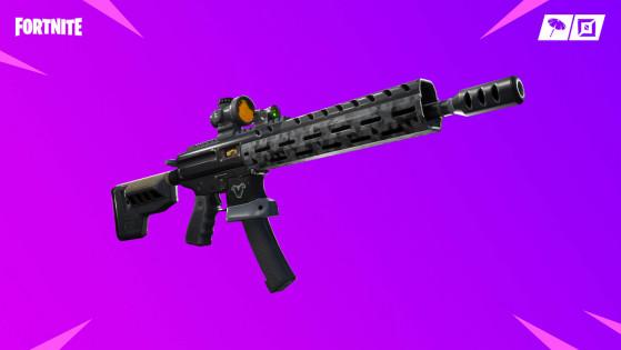 fortnite fusil d assaut tactique nouvelle arme - nouvelle arme fortnite saison 6