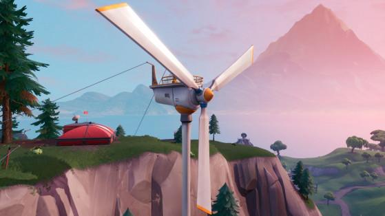 Fortnite : visiter plusieurs éoliennes en une seule partie, défi semaine 5