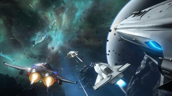 Star Citizen : Freefly et vente spéciale vaisseaux Origin
