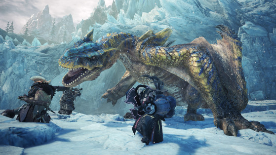 Monster Hunter World Iceborne : Tigrex, monstre