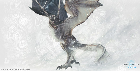 Monster Hunter World Iceborne: Legiana blizzard, Shrieking legiana, monstre