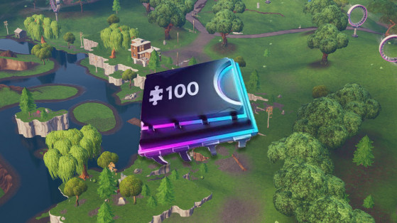 Fortnite : puce 78, décryptage, emplacement, Loot Lake