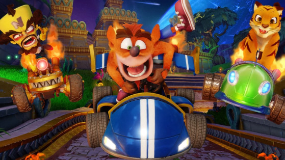 Test Crash Team Racing Nitro Fueled sur PS4, Xbox One & Nintendo Switch