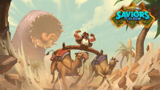 Hearthstone, Les Aventuriers d'Uldum : Date de sortie