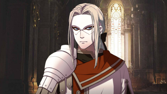 Fire Emblem Three houses :  Jeritza, professeur, infos, recrutement, recruter, Emile
