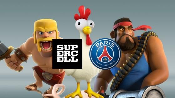 Supercell : Partenariat PSG, Clash Royale, Brawl Stars