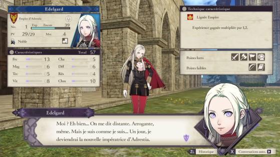 Edelgard, future impératrice ? - Fire Emblem Three Houses