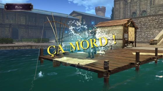 Week-end pêche et jardinage. - Fire Emblem Three Houses