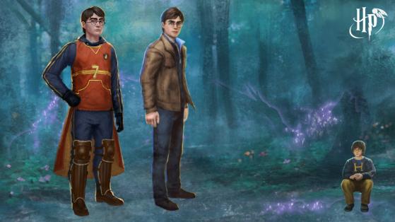 Harry Potter Wizards Unite : événement Calamité, Potter, brillant