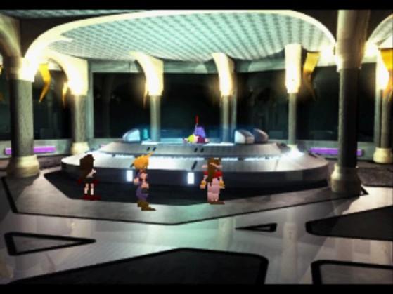 La Tour Shinra version 1997 - Final Fantasy 7 Remake