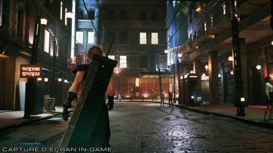 Le Secteur 8 de Midgar version 2020 - Final Fantasy 7 Remake