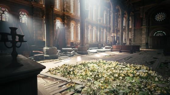 L'église d'Aerith version 2020 - Final Fantasy 7 Remake