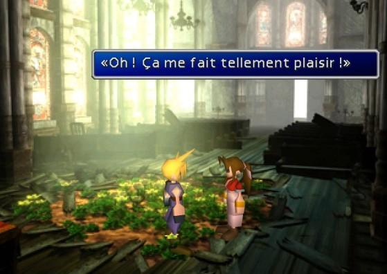 L'église d'Aerith version 1997 - Final Fantasy 7 Remake