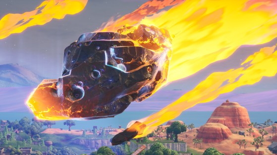 Fortnite : atterrir à Dusty Depot puis visiter le météore