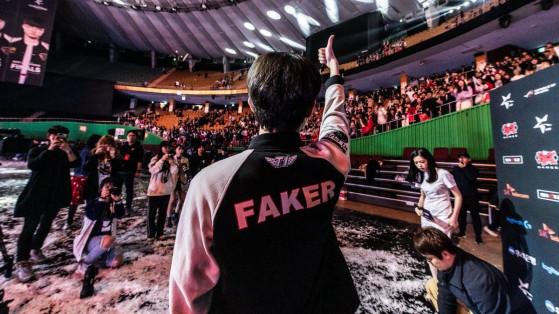 Faker, midlaner SKT T1 (Groupe C) - League of Legends