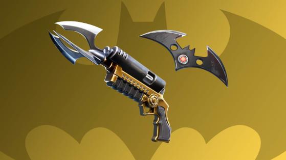 Fortnite x Batman : lance-grappin et Batarang explosif, nouveaux objets