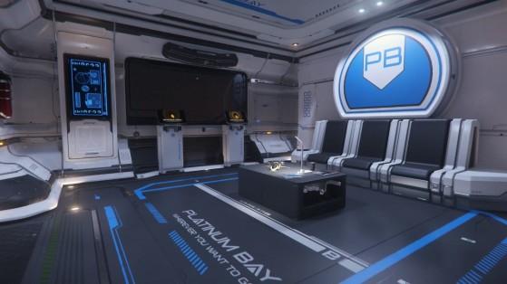 Platinum Bay : Intérieur - Star Citizen