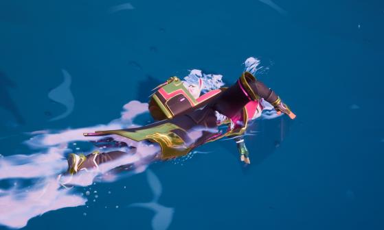Fortnite Chapitre 2 : vous pouvez sauter et nager dans l'eau