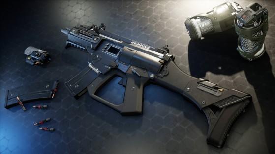 Star Citizen : Armes FPS : Behring P4-AR