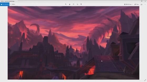 Résultat de la conception de Ny'alotha - World of Warcraft