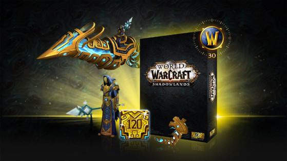 WoW : Base Edition, Heroic Edition, Epic Edition et Edition Collector de Shadowlands