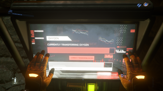 Action de remplissage - Star Citizen
