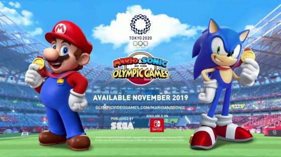 Test Mario & Sonic aux Jeux Olympiques de Tokyo sur Nintendo Switch