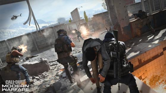Call of Duty Modern Warfare : Guerre terrestre, mode multijoueur