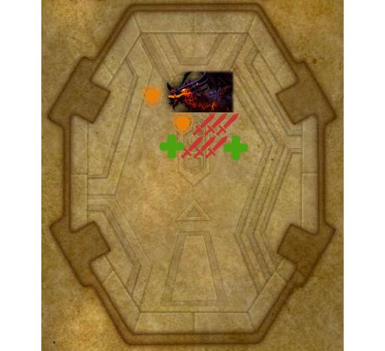 Placement du boss et du raid en Phase 1 - World of Warcraft