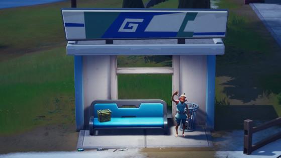 Fortnite : Visiter plusieurs arrêts de bus en une seule partie