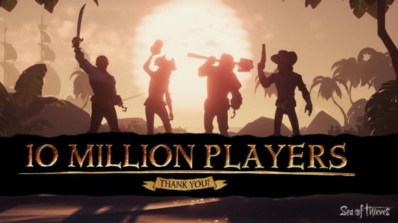 Sea of thieves : Legends of the Sea, 10 millions de joueurs