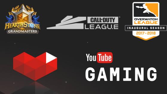 Activision Blizzard : les scènes esport sur Youtube Gaming