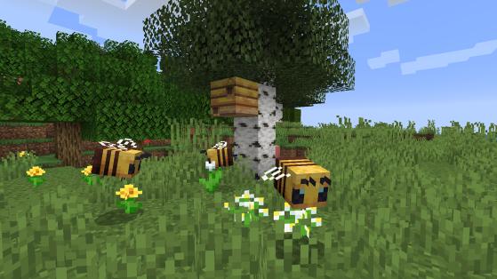 Minecraft : Miel, ruche, abeilles ; guide de l'apiculture