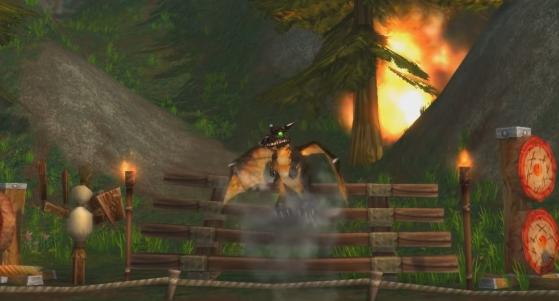 Si Irion avait encore son vieux modèle ce serait beaucoup moins impressionnant - World of Warcraft