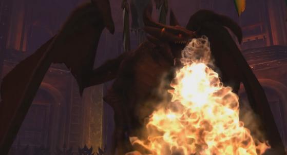 Heureusement pour le raid, le dragonnet a bien grandi depuis Mists of Pandaria - World of Warcraft