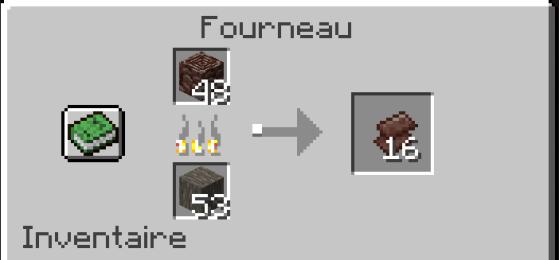 Faites cuire les débris antiques pour obtenir des fragments - Minecraft