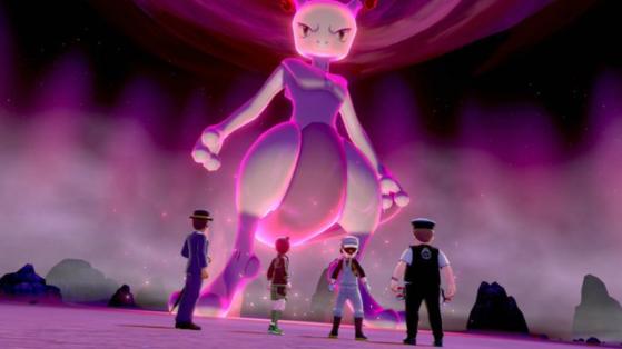 Pokemon Epee et Bouclier : Raid Mewtwo et starters de Kanto