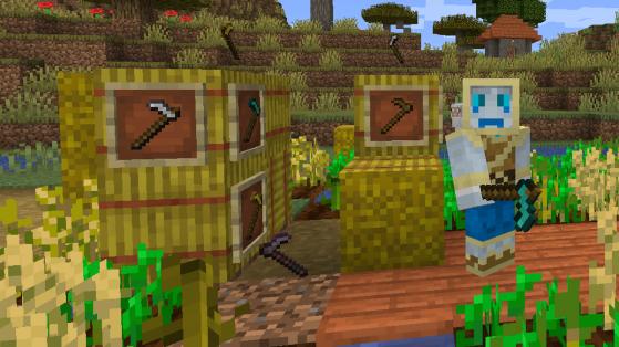 Minecraft 1.16 : La Houe, nouveautés de l'outil, utilité et enchantement