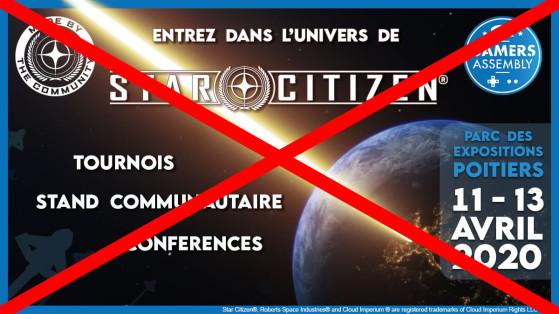 Star Citizen : Annulation de l'édition 2020 de la Gamer's Assembly
