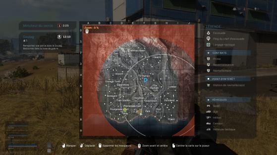Lieu de la cible - Call of Duty : Modern Warfare