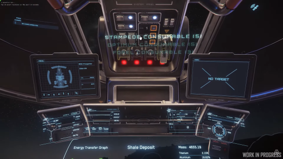 Activation des consommables - Star Citizen