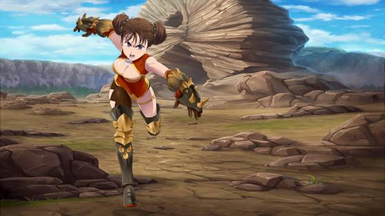 Seven Deadly Sins Grand Cross : guide Diane combattante, Maître du kung-fu équipement, build