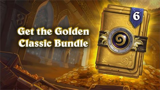 Hearthstone : Classic golden bundle, 6 packs classiques dorés 26 mai