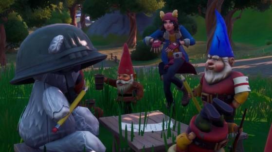 Fortnite : danser avec les ours et les gnomes, défi secret