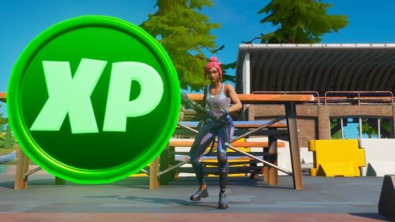 Fortnite : pièces XP, expérience bonus semaine 1