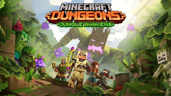 Minecraft Dungeons : DLC Jungle Awakens, date de sortie le 1er juillet